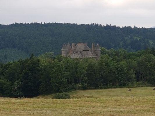 Le château de Vachères