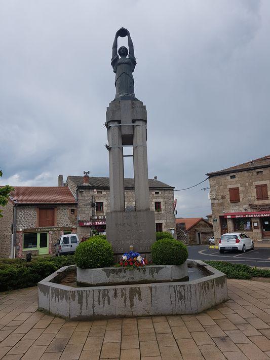 Monument aux morts de raucoules